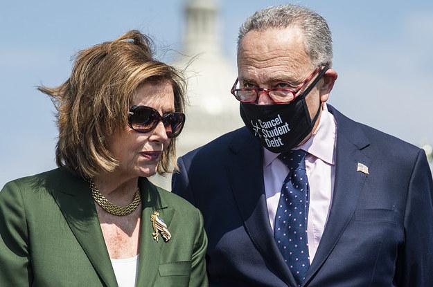 Joe Biden's Agenda Is Hanging By A Thread As Democrats In Congress Threaten To Tank Two Major Bills