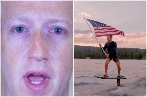 Do NOT Say Mark Zuckerberg Was Riding An Electric Surfboard