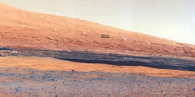 NO es una duna de arena en el norte de África