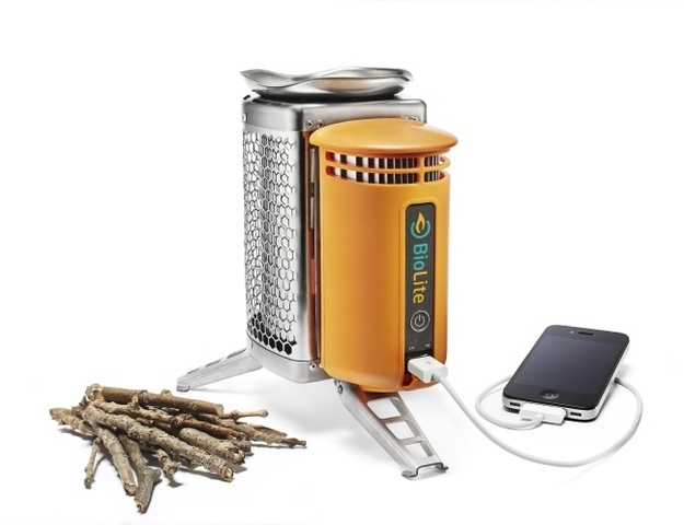 The BioLight Camp Stove/Charger