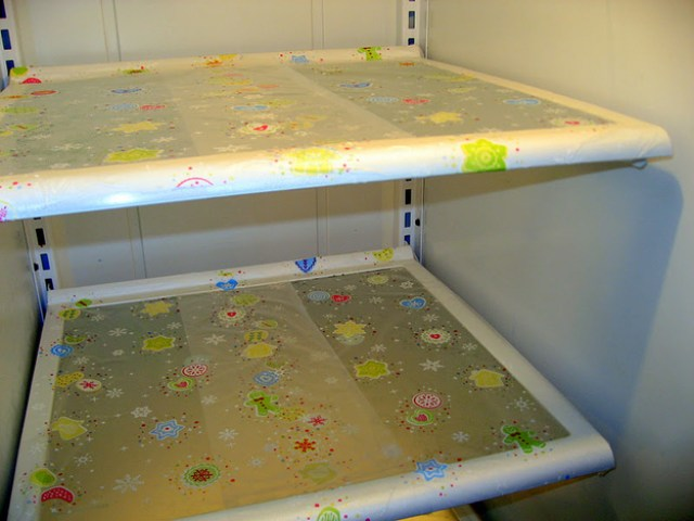 Image result for organise fridge plastic wrap tray