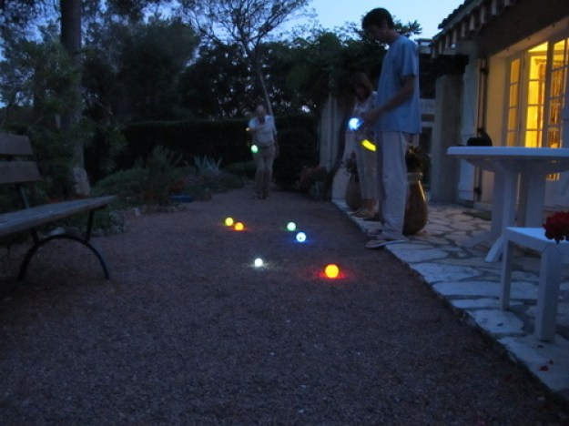 Glow in the Dark Bocce Ball Set