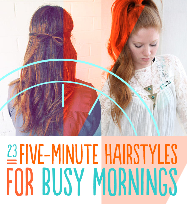 Image Result For Five Minute Hairstyles For Busy Mornings Buzzfeed