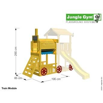 Modul Jungle Gym Tåg till bra pris hos Byggshop.se