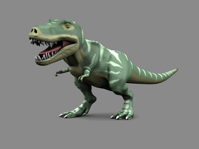 Rigged Tyrannosaurus Rex 3d Model Blender Files Free Download Modeling 19554 On CadNav