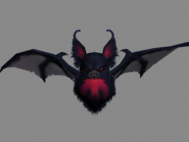 Vampire Bat 3d Model 3ds Max Files Free Download
