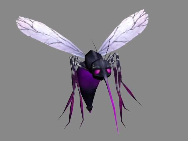 Monster Mosquito 3d Model 3ds Max Files Free Download