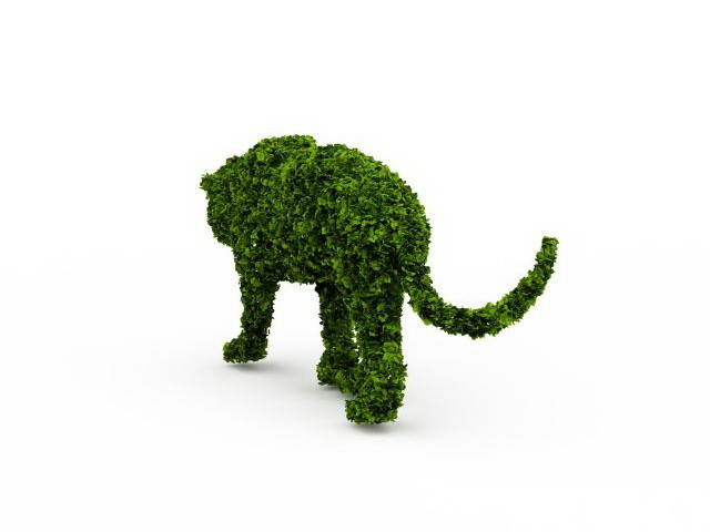 Topiary Lion 3d Model 3ds Max Files Free Download Modeling 29838 On CadNav
