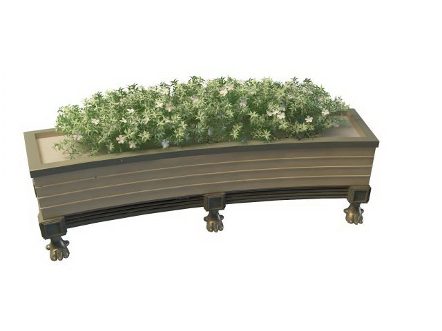 Box Planter Tall