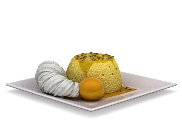 Mousse Cake Dessert 3d Model 3ds Max Files Free Download Modeling 31856 On CadNav