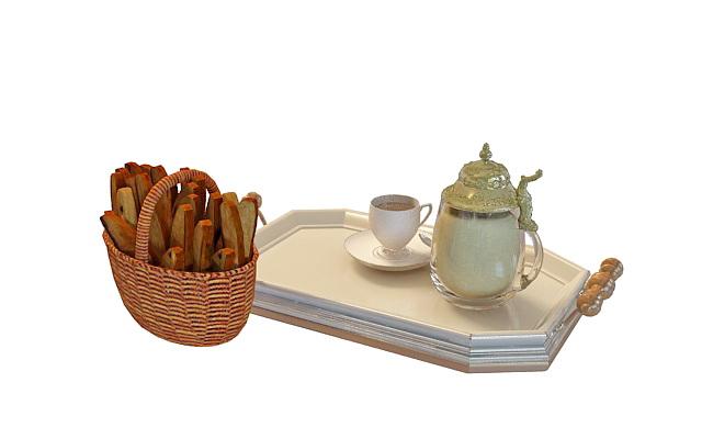 Kitchen Tiles Design Cup Plate