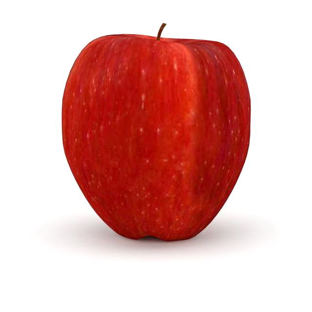Red Apple 3d Model 3ds Max Files Free Download Modeling 32533 On CadNav