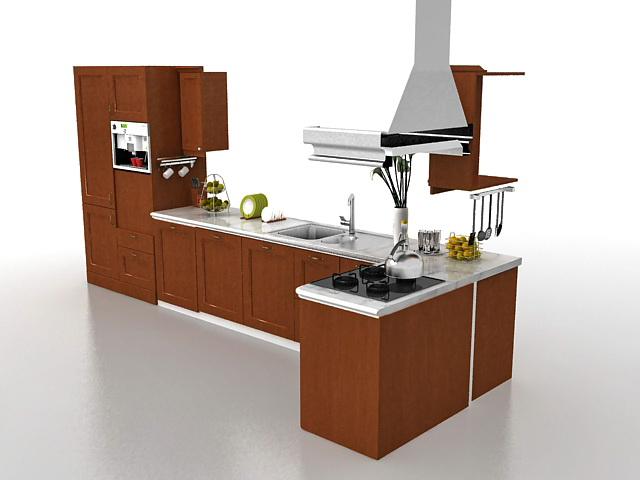 If you're looking to boost your small kitchen's functionality and fun without tearing it down to the studs, these useful design ideas can transform the space. Kitchen cabinets design 3d model 3ds Max files free download - modeling 33725 on CadNav
