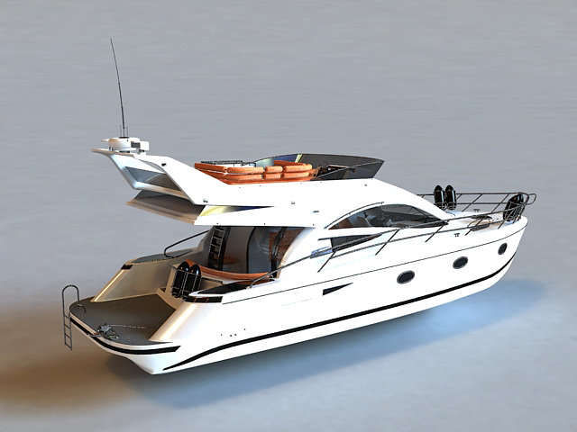 Small Yacht 3d Model 3ds Max Files Free Download Modeling 37129 On CadNav