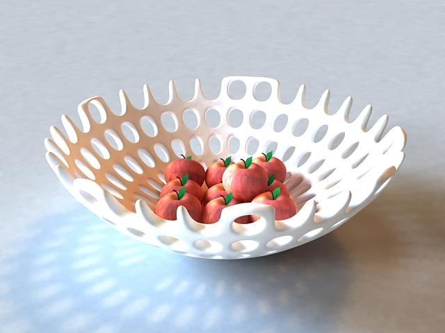 Fruits Basket Decoration 3d Model 3ds Max Files Free Download Modeling 37463 On CadNav