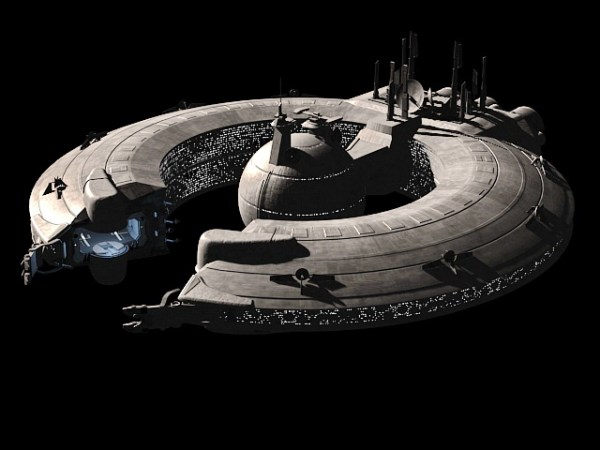 Future Space Station 3d model 3ds Max,Object files free ...