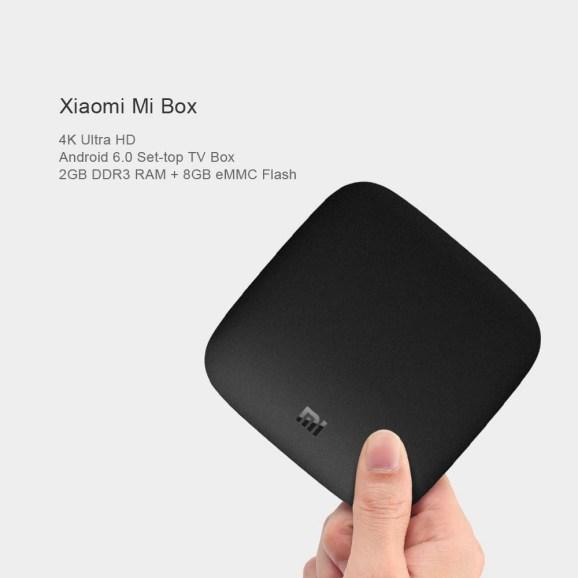 TV-Box Xiaomi Mi 4K Ultra HD com Código de Promoção 2
