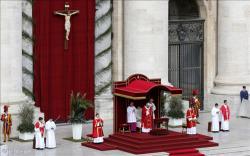"""Papa celebra Missa de Ramos: """"quem sou eu diante de Jesus?"""""""