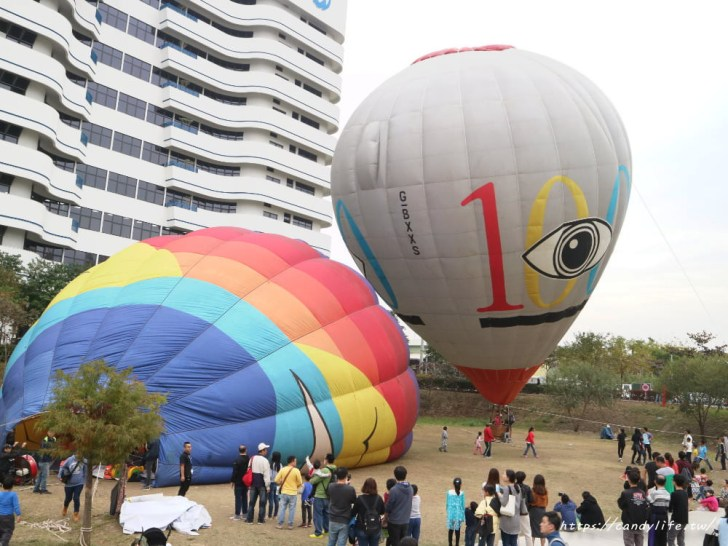 20190120181703 40 - 台中也出現熱氣球了!除了起球表演及熱氣球吊籃拍照外,還可以走進熱氣球體驗唷~