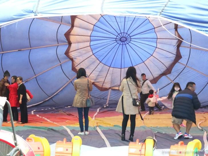 20190120181811 36 - 台中也出現熱氣球了!除了起球表演及熱氣球吊籃拍照外,還可以走進熱氣球體驗唷~