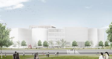 台中再添台灣世界級新地標!隱身公園最美的圖書館,預計2022年完工啟用