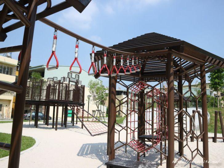 20190911151847 11 - 台中首座「蜂巢」遊具公園在這裡!蜂巢設計意象,打造12感官式遊具~