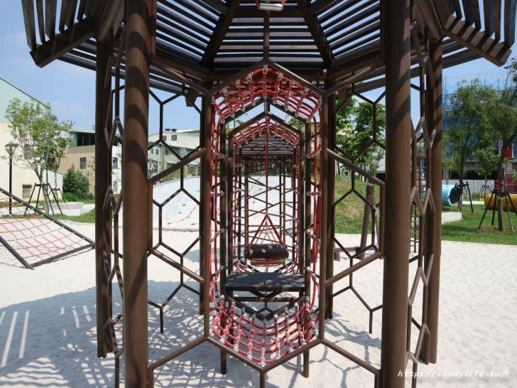 20190911151857 30 - 台中首座「蜂巢」遊具公園在這裡!蜂巢設計意象,打造12感官式遊具~