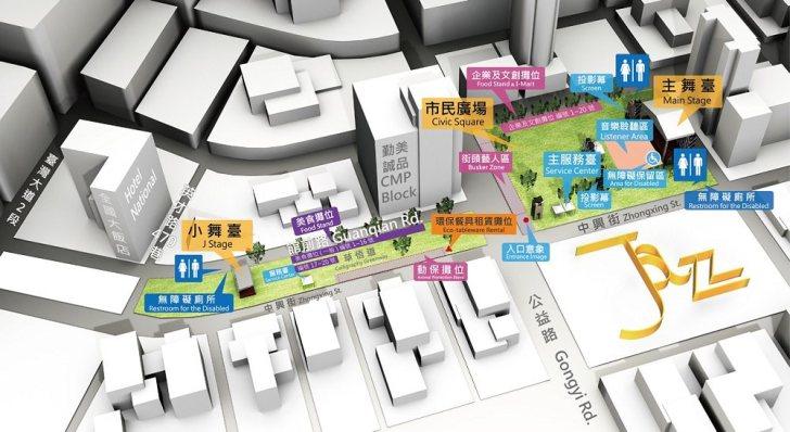 20191003092133 55 - 2019臺中爵士音樂節即將登場!美食攤位、停車資訊、節目表看這裡!