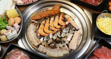 阿豬媽韓式烤肉火鍋吃到飽,近40種食材無限供應,還有海鮮煎餅、韓式冬粉、泡菜炒飯任你吃~學生來更優惠!