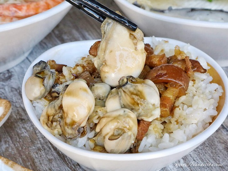 20200130090304 70 - 熱血採訪│台中也吃的到台南鹽水小吃豆簽羹,還有肥滋滋的鮮蚵滷肉飯,一碗只要銅板一枚!