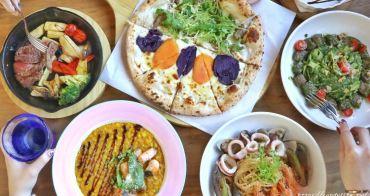默爾 pasta pizza -台中JMall店│充滿異國風情的義大利餐廳,手工窯烤披薩現場製作,甜點提拉米蘇也很讚~