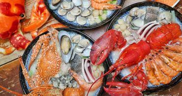 霸氣螃蟹海鮮粥│超狂海鮮粥在這裡!海鮮多到不行,還有整隻活體龍蝦入料,沒預訂吃不到!