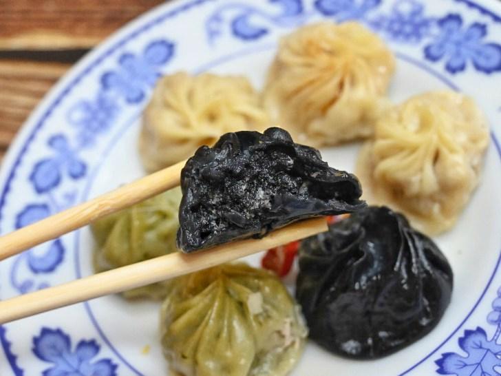 20200722114229 30 - 台中湯包也出現黑色湯包啦!東東飯館湯包不只黑還會噴汁!還有三色湯包,用餐時間人潮較多,建議先電話預訂~
