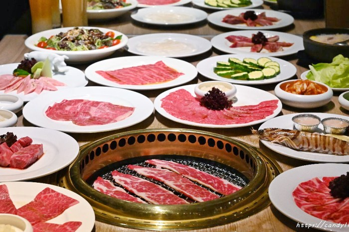 屋馬燒肉│沒訂位吃不到的燒肉店,傳說中的台中燒肉你吃過了嗎~