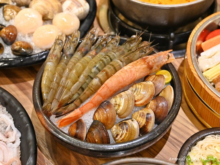 20201007141925 50 - 熱血採訪│台中唯一有機葉菜吃到飽火鍋店,現在還有海鮮買大送小超划算!
