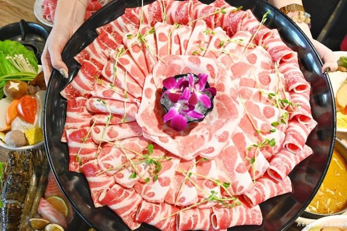 大胃王肉盤真的超霸氣,限時內吃完結帳直接在扣500元現金,憑卷再送藍鑽蝦