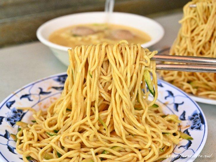 20210213084844 98 - 在台中也吃的到台北涼麵,位置超隱密的人氣銅板美食,除了涼麵,三合一湯也是必點!