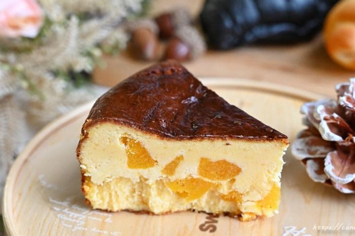 牛胖手作 不只流淚可頌,還有超夯巴斯克乳酪蛋糕,激推芋頭及芒果口味,內餡滿滿都是料,用料毫不手軟!