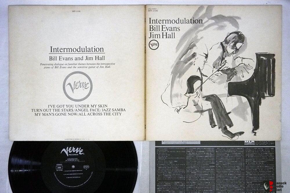 BILL EVANS JIM HALL Intermodulation VERVE MV 2106 Japanese