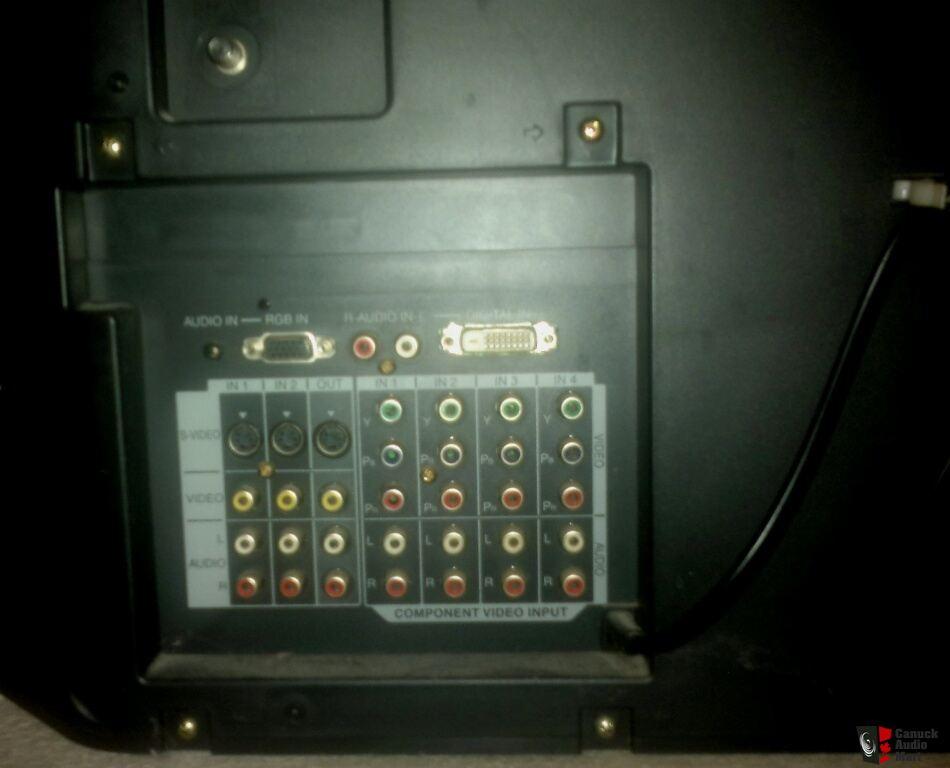 Panasonic Rear Projection Hdtv Model Pt50lc13k Photo