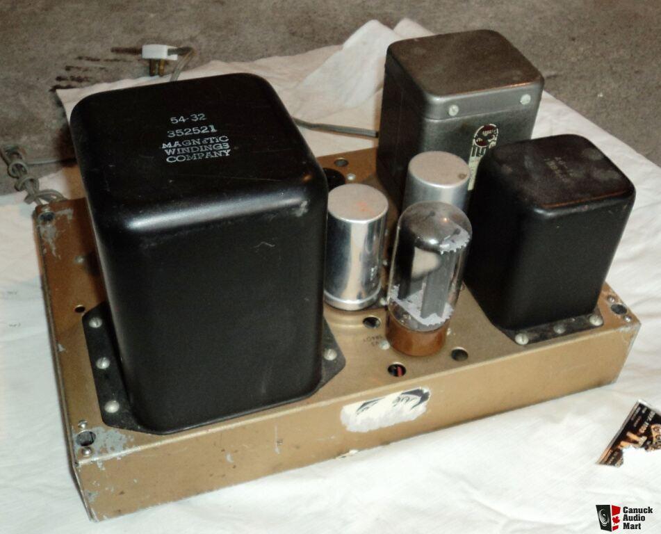 Heathkit W5 M Tube Amplifier Photo