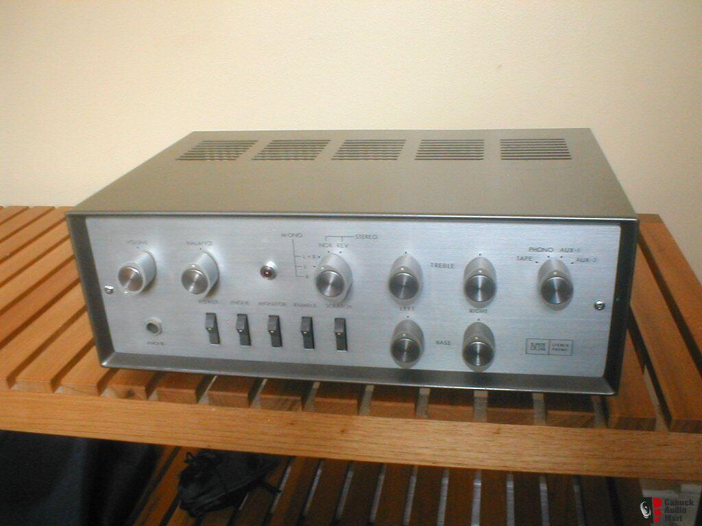 Vintage LUXMAN Tube Amplifier Amp Preamplifier In Excellent