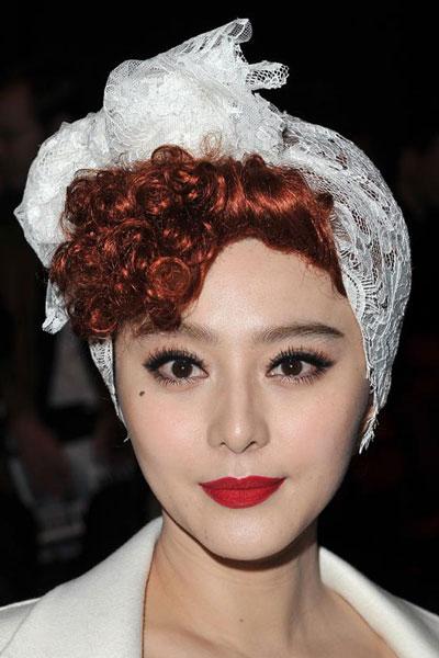 Fan Bingbings Rockabilly Hairstyle Party Careforhair