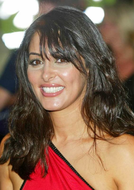 Laila Rouass Hairstyles