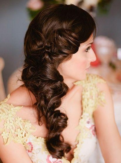 Twisted Braid Bridal Hairdo Wedding