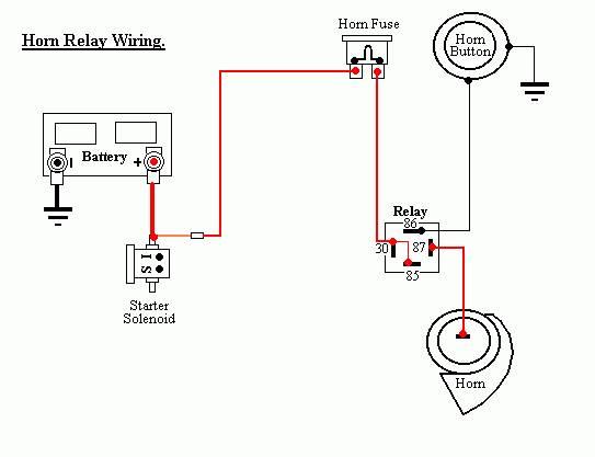 Diagram A Horn Relay Wiring Diagram