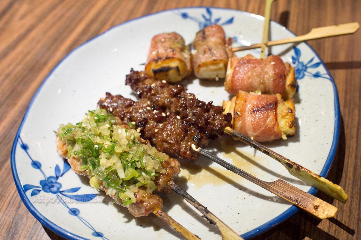 臺北美食 | 中山區 行天宮《你回來了型男食堂》調酒 日式炸物串燒 小鮮肉居酒屋 - 卡琳。摸魚兒趣