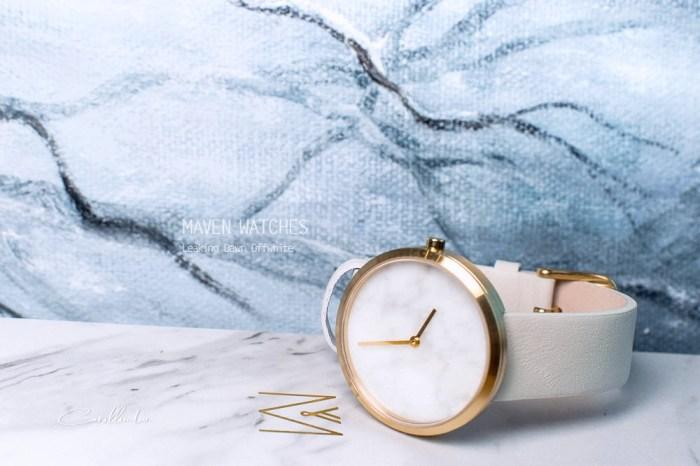 MAVEN WATCHES 手錶開箱 | Leaking Dawn Offwhite – 香港設計品牌 大理石極簡工藝