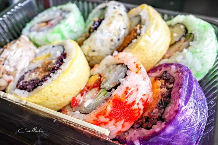 台北木柵美食 | 稻草人壽司 – 彩色壽司!隱藏版市場美食,現點現做豆皮壽司及花壽司