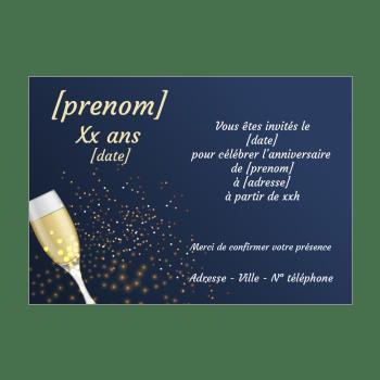d invitation a un anniversaire adulte